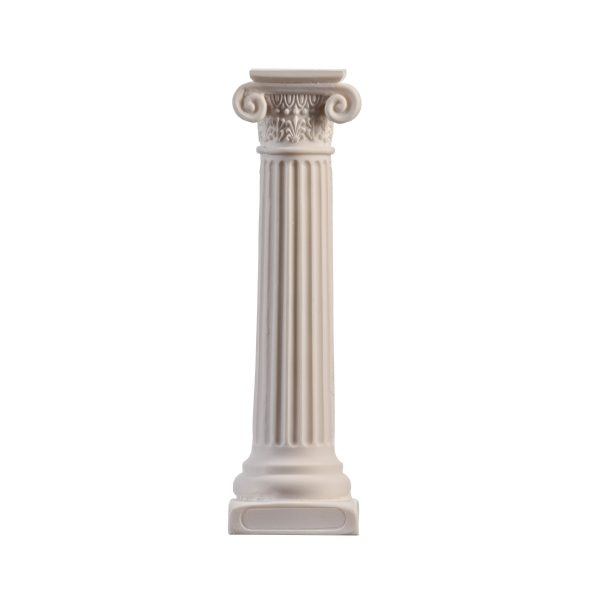 Greek Column Ionic Order Ancient Decoration Architecture Alabaster 6.7″ Free Shipping