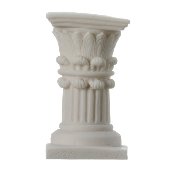 Corinthian Order Candle Holder Ancient Greek Column Decoration Architecture 4.7″