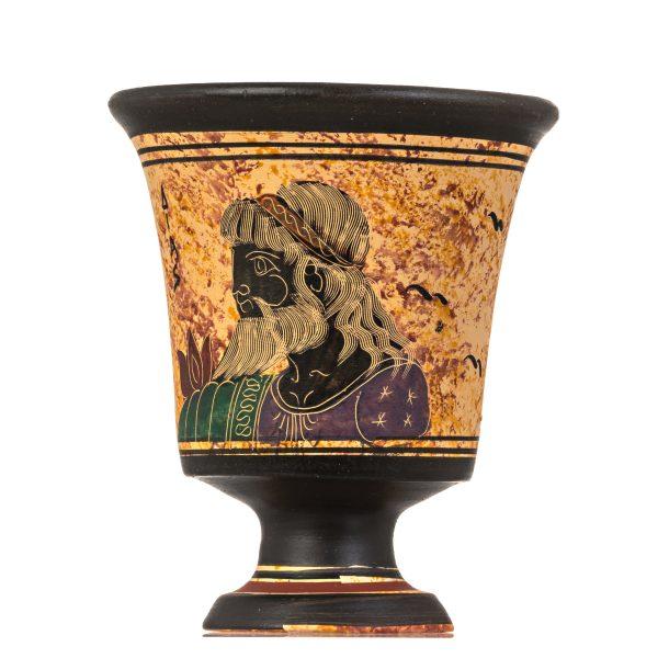 Pythagoras Cup of Justice Pythagorean Fair Mug Ancient Greek God Zeus Hand Painted Ceramic (2)